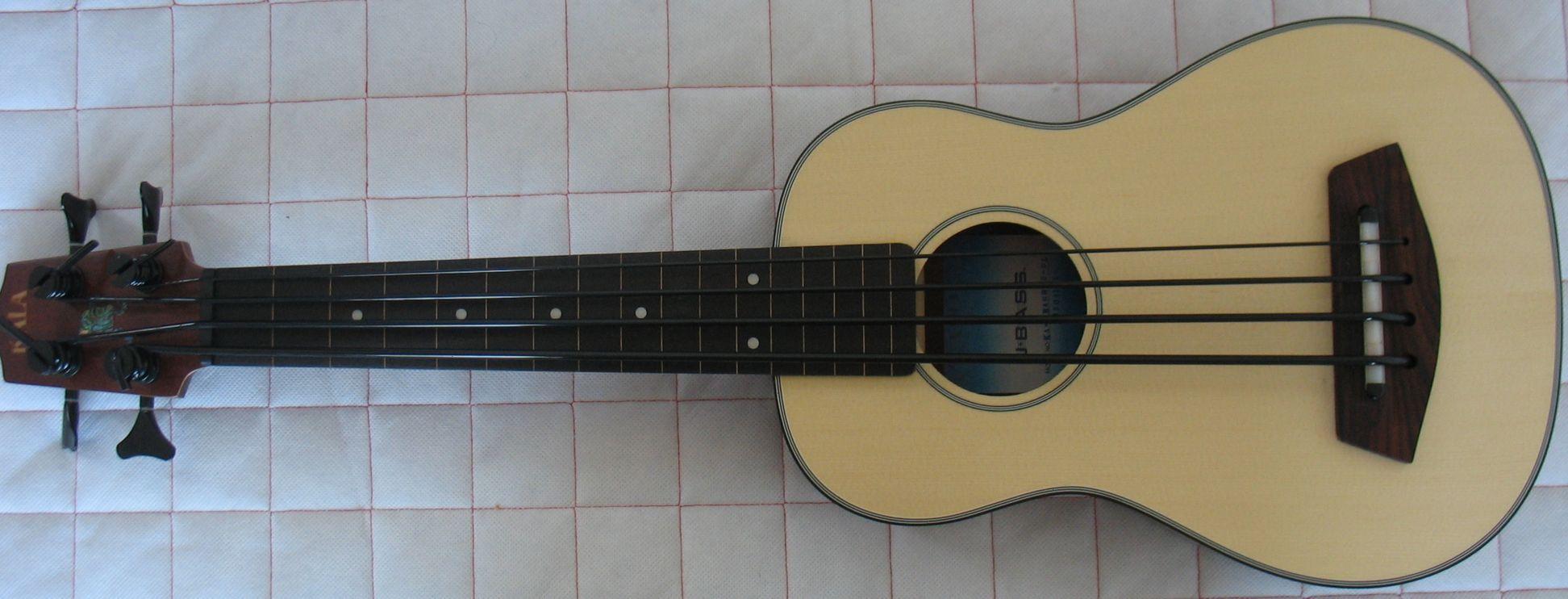 how to play bass ukulele