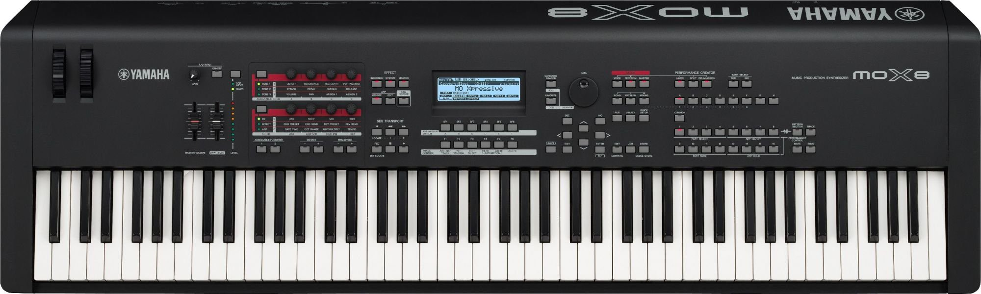 Yamaha Mox Keyboard Synthesizer  Key