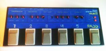 Zeitmaschine: Ibanez PUE5, Gitarren-Multieffekt
