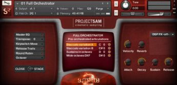 Test: ProjectSAM, Symphobia 2, Software-Orchester