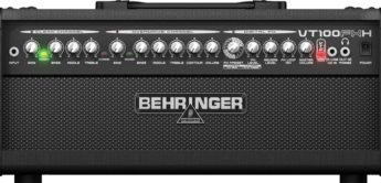 Test: Behringer, Virtube VT100FXH, Gitarrentopteil