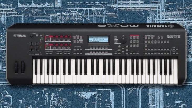 Yamaha MOX6 Synthesizer & Music-Workstation