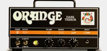 Test: Orange, Dark Terror Head, Gitarren-Röhrentopteil