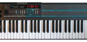 Blue Box: Korg Poly-800 Synthesizer