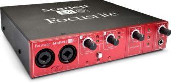 Test: Focusrite, Scarlett 8i6, Audiointerface