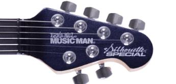 Test: Music Man Silhouette Special Mirror Edition, E-Gitarre