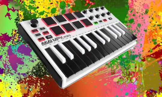 Test: AKAI MPK Mini MK2, USB-Controller-Keyboard