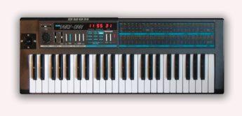 Blue Box: Korg Poly-800, EX-800 Synthesizer von 1983