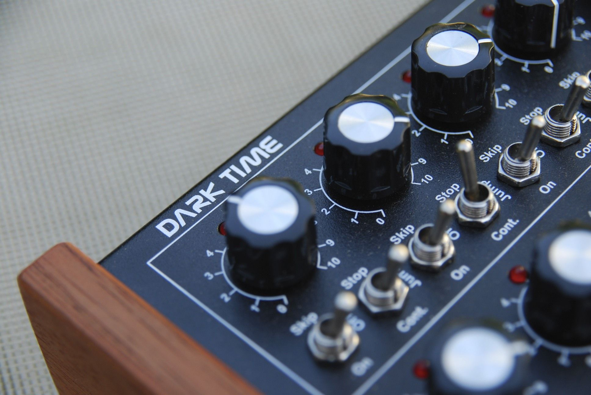 test  doepfer  dark time  hardware step-sequencer