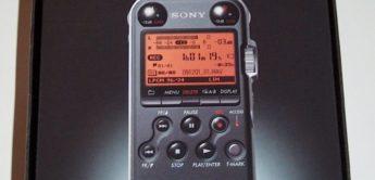 Sony, PCM-M10, Stereo-Handheldrecorder