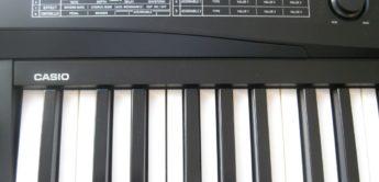 Test: Casio Privia PX-3 BK, Digitalpiano