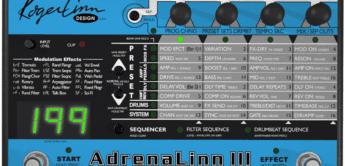 Test: Roger Linn, Adrenalinn III, Gitarren-Effektgerät & Groove-Box