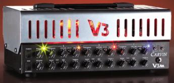 Test: Carvin V3M Head, Gitarren-Röhrentopteil