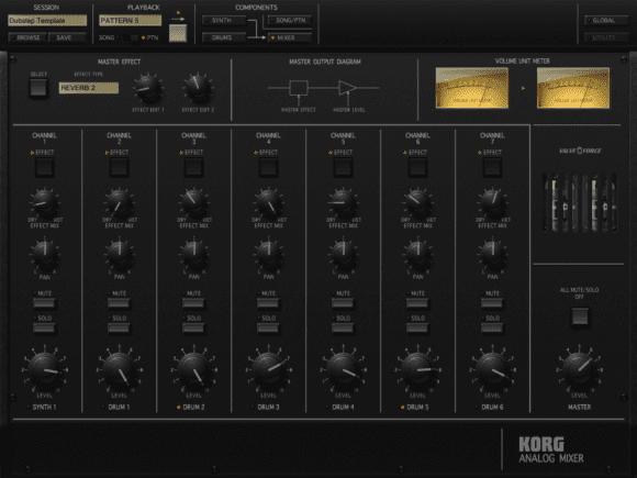 Korg iMS-20 - Mixer