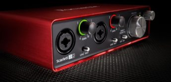 Test: Focusrite Scarlett 2i2 MK2, USB 2.0 Audiointerface