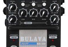 Test: AMT, SS-30, Gitarren-Preamp
