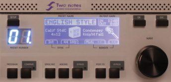 Test: Two Notes, Torpedo VB101, Lautsprechersimulator für Gitarren- und Bassverstärker
