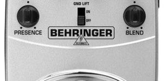 Test: Behringer, V-Tone Bass BDI21, Effektgerät für Bass