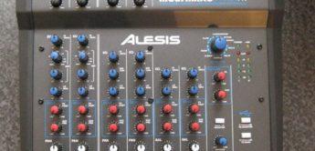 Test: Alesis, Multimix 8 USB 2.0 FX, Mischpult mit USB 2.0 Interface