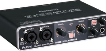 Test: Roland, UA-55 Quad-Capture, USB-Interface mit Digital I/O