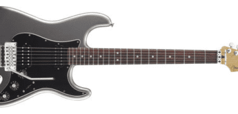 Test: Fender, Blacktop Strat RW FR TSV, E-Gitarre