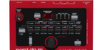 Top News: Clavia Nord-Drum, virtuell-analoger Drumsynthesizer