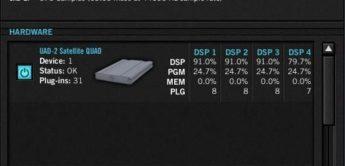 Test: Universal Audio, UAD2 Satellite Quad, Firewire DSP Karte