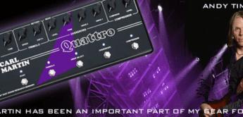 Test: Carl Martin, Quattro, Gitarren-Multieffektpedal