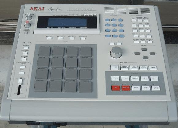 Das Original von 1994 - die MPC3000