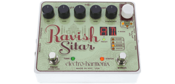 Test: Electro Harmonix Ravish Sitar, Effektgerät