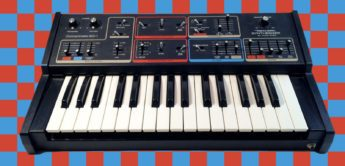 Blue Box: Moog Concertmate MG-1 by Radio Shack
