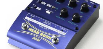 Test: Akai, E2 Headrush, Effektgerät für E-Gitarre