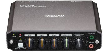 Test: Tascam, US-125M, USB Audio-Interface
