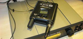 Test: Line 6, XD-V70HS, Digitale Funkanlage