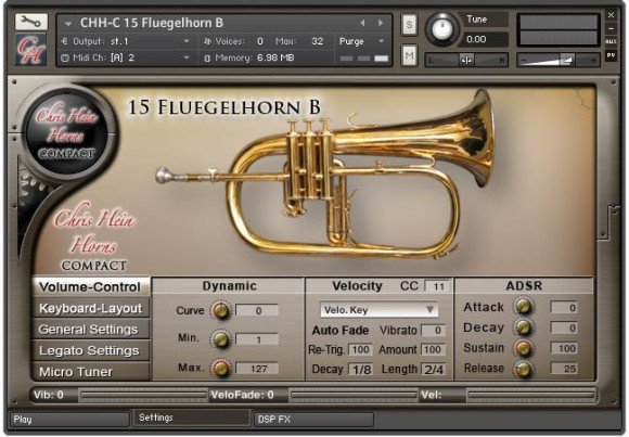 Fluegelhorn Screen