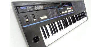 Blue Box: Korg DW-6000, Hybrid Synthesizer