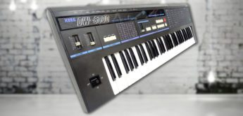 Blue Box: Korg DW-6000 Hybrid Synthesizer