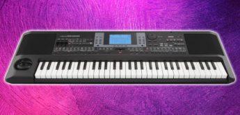 Test: Korg microArranger, Entertainer Keyboard