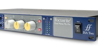 Top News: Focusrite ISA Two, Classic dual-mono, transformer-based mic preamp
