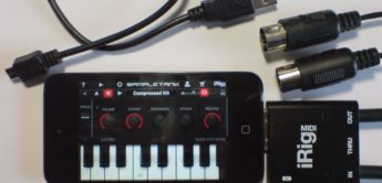 Test: IK Multimedia, iRig MIDI & SampleTank für iOS, MIDI Interface für iPhone, iPod Touch und iPad
