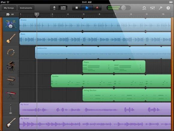 Apple GarageBand für iPad (GB1.2)