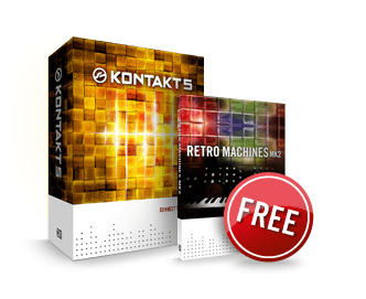 Native Instruments Kontakt 5 + Retro Machines MK2