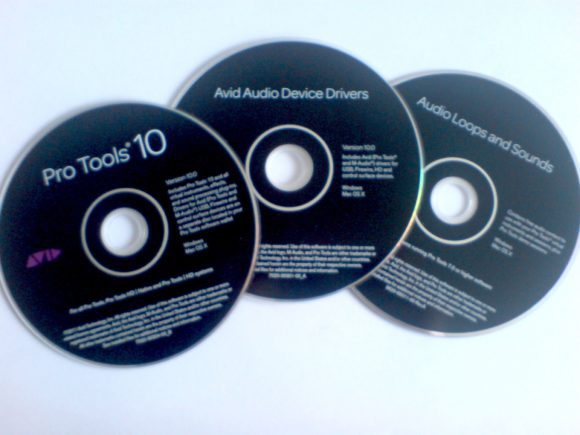 PT 10 - Discs Installation, Treiber, Audio-Loops