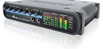 Test: Motu, 4 Pre, Audio-Interface
