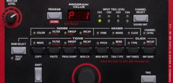 Test: Clavia Nord Drum, Drumsynthesizer