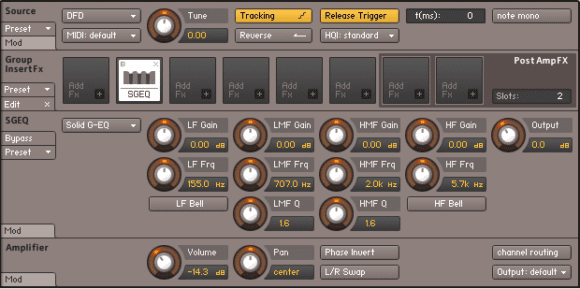 Kontakt 5 Solid EQ