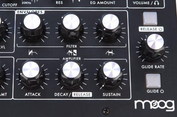 Die Hüllkurvensektion des Moog M