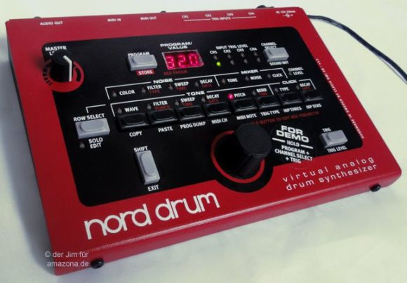 Nord Drum - virtuell analoge Synthdrums