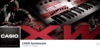 Top News: CASIO startet deutschsprachige Synthesizer-Facebook-Seite