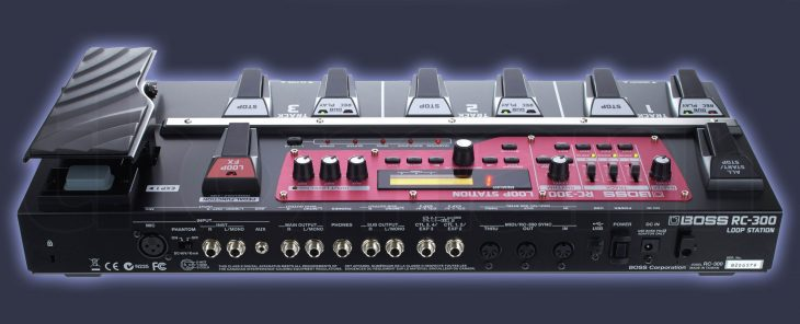 BOSS RC-300 Loop-Station